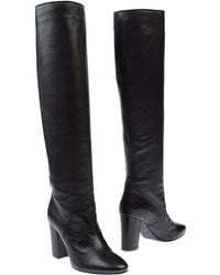 Lanvin Black Boots - Lyst