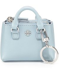 Tory Burch Robinson Double-zip Key Tote - Lyst