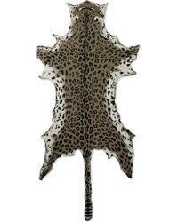 Junya Watanabe - Leopard Print Cotton Shawl - Lyst