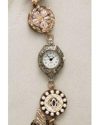 Anthropologie - Charmed Timepiece Bracelet - Lyst