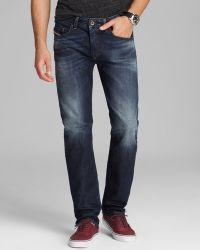 Diesel Jeans Buster Tapered Fit in Dark - Lyst