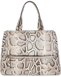 Givenchy Pandora Pure Python Bag - Lyst