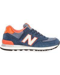 New Balance The 574 Pennant Sneaker - Lyst