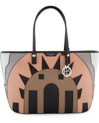 Henri Bendel West 57th Ew Deco Tote - Lyst
