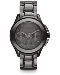 Karl Lagerfeld Klassic Gunmetal Grey Mens Bracelet Watch - Lyst
