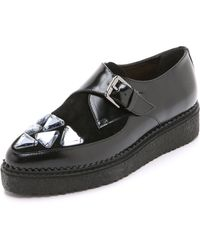 Markus Lupfer | Jewelled Loafers - Black | Lyst