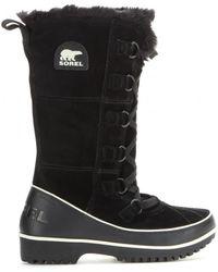 Sorel Tivoli High Ii Suede Boots - Lyst