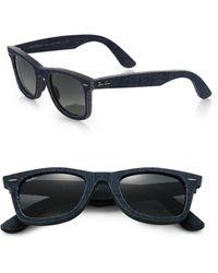 Ray-Ban 50Mm Denim Wayfarer Sunglasses - Lyst