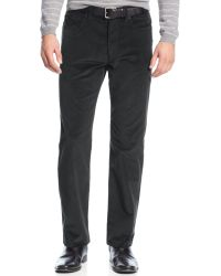 Calvin Klein Stretch Slim-fit Corduroy Pants - Lyst