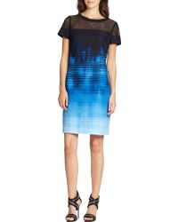 Elie Tahari Cassie Dress - Lyst