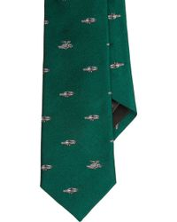 Band Of Outsiders Delorean Car Jacquard Neck Tie - Lyst