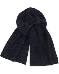 Theory Marled Knit Scarf - Lyst