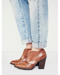 Jeffrey Campbell Womens Deep V Ankle Boot - Lyst