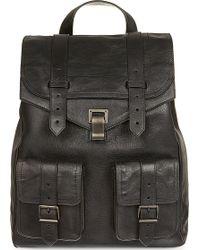 Proenza Schouler Ps1 Backpack Black - Lyst