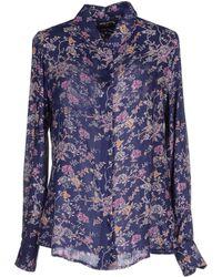Antik Batik Shirt blue - Lyst