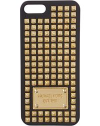 Michael Kors Electronics Black Stud Phone Cover - Lyst