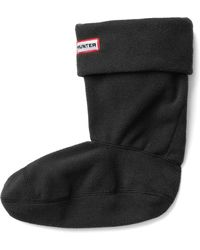Hunter Short Fleece Welly Sock - Lyst
