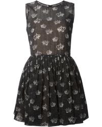 Valentino Printed Dress - Lyst