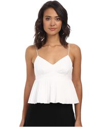 Nanette Lepore Pleats Me Top - Lyst