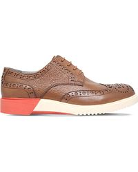 Anthony Miles - Brooke Leather Derby Brogues - Lyst