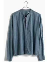 Madewell Chambray Dolman Shirt - Lyst
