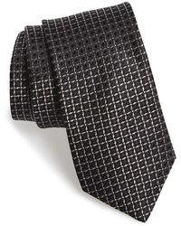 Michael Kors - 'lattice' Geometric Silk Tie - Lyst