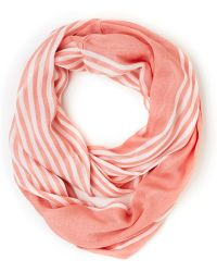 ModCloth | Rays On A Cloudy Day Scarf in Peach | Lyst