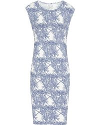 Reiss Rica Print Jersey Dress - Lyst