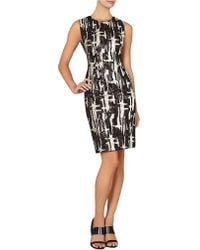 BCBGMAXAZRIA Larisa Abstract Sequined Sheath Dress - Lyst