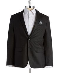William Rast - Linen Blazer - Lyst