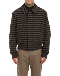Haider Ackermann Oversize Stripe Blouson - Lyst