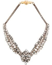 Shourouk Silver Tabatha Necklace - Lyst