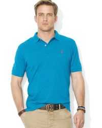 Ralph Lauren Polo Classic Mesh Polo Shirt - Regular Fit - Lyst