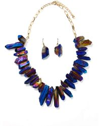 Nasty Gal Crystal Galaxy Jewelry Set - Lyst