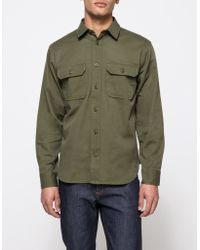Filson | Chino Shirt In Olive | Lyst