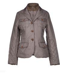 Blue Les Copains Jacket - Lyst