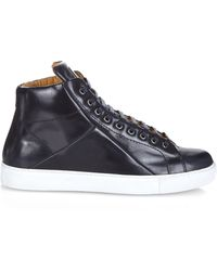 Mr. Hare - Jack Johnson High-Top Leather Trainers - Lyst