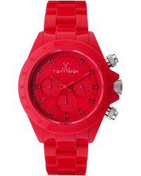 Toy Watch - Plasteramic Chronograph Watch - Lyst