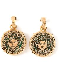 Versace Medusa Earrings - Lyst