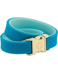 Marc By Marc Jacobs Key Items Snap It Up Silicone Bracelet - Lyst