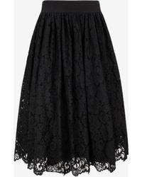 Ted Baker | Lace Ballerina Midi Skirt | Lyst
