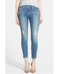 James Jeans 'Twiggy' Ankle Skinny Jeans - Lyst