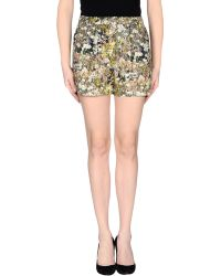 Cacharel Shorts multicolor - Lyst
