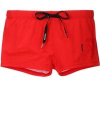 Diesel Red Swimsuit 00cgicbmbraloha - Lyst