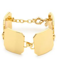 J.Crew Metal Shield Bracelet - Lyst
