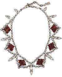 DANNIJO - Devi Crystal Statement Necklace - Lyst