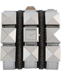 Karl Lagerfeld Wrist Watch silver - Lyst