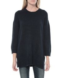 Mason by Michelle Mason Over Sized Sweater blue - Lyst