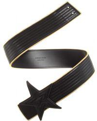 Saint Laurent Leather Belt - Lyst