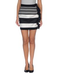 Emanuel Ungaro Mini Skirt - Lyst